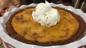Hawaiian Electric Pumpkin Crunch Recipe by Pumpkin Gingersnap Chiffon Pie Sandra Lee Recipe Abc News