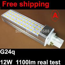 pf 0 9 4 pin g24q led plc bulb light 12w 30led 5730 smd g24 led