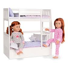 Amazon Our Generation Dolls Dream Bunk Bed Set Toys & Games