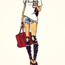 28 Collection Of Starbucks Tumblr Girl Drawing