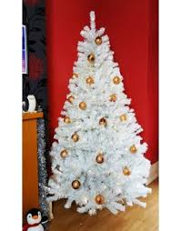 The 9ft Pre Lit Bianca Pine Tree With Warm White Lights