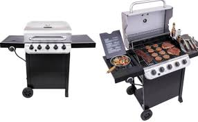 Char-Broil Performance Black And Stainless 5-Burner Liquid ...