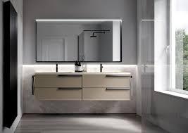 form badezimmermöbel in hängeausführung oder auf dem boden
