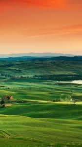 Field Tuscany 5k 4k Wallpaper 8k Italy Landscape Village