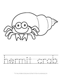 Cartoon Hermit Crab Clipart 34