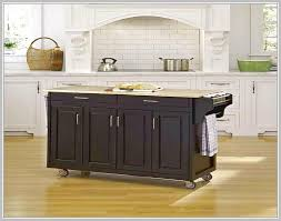 Kitchen Island With Wheels Granite On Regarding Casters Remodel 13