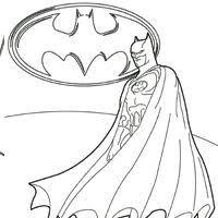 Batman Coloring Pages Surfnetkids