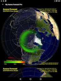 My Aurora Forecast Pro Aurora Borealis Alerts Android Apps on