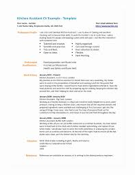 Kitchen Worker Sample Resume Unique Cover Letter For Hand