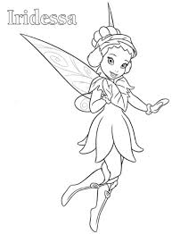 Iridessa Tinkerbell Coloring Page