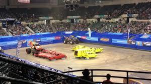 Derick Anson Demo Derby (winning)wheelie Run Hw Monster Trucks Live ...