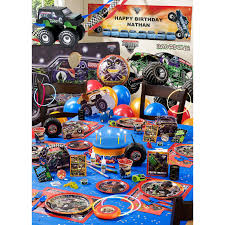 99 Monster Truck Party Favors Jam Mikey Pinterest Jam S And
