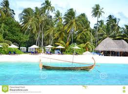 100 W Retreat Maldives Traditional Dhoni Editorial Image Image Of