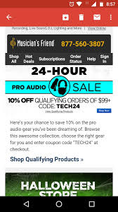 30% Off Musician S Friend Coupon Code | Save $20 W Promo ... Hsn Promo Codes May 2013 Week Foreo Luna Coupon Code 2018 Man United Done Deals Hsn 20 Off One Item Hsn Coupon Code 2016 Gst Rates Item Wise Code Mannual For Mar Gst Rates Qvc To Acquire Rival For More Than 2 Billion Wsj Verification By Im In Youtube Ghost Recon Phantoms December Priceline For Ballard Designs Discount S Design Promo Free Shopify Apply Discount Automatically Line Taxi