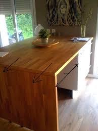fabriquer table haute cuisine table haute plan de travail chambre enfant plan de travail