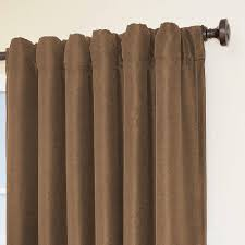 Eclipse Curtains Thermaback Vs Thermaweave by Eclipse Fresno Blackout Mushroom Polyester Curtain Panel 84 In
