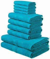 my home handtuch set set 10 tlg mit abgesetzter bordüre