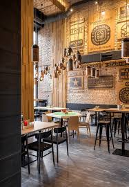Modern Rustic Industrial Restaurant Design Ideas Decor