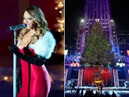 Rockefeller Plaza Christmas Tree Cam by Behold Rockefeller Center Christmas Tree Lights Up The Night