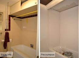 subway tile bathtub surround