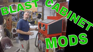 Media Blasting Cabinet Manufacturers by Harbor Freight Blast Cabinet Upgrades And Modifications Youtube