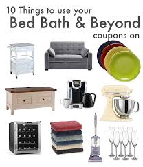 Bed Bath Beyond Furniture by 10 Things To Use Your Bed Bath And Beyond Coupons On