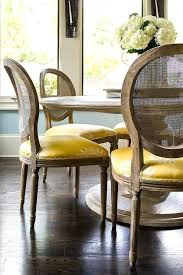 Dining Room Chair Seat Cushions Round Marble Top Table With Cane Back Chairs And