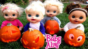 Naughty Pumpkin Carvings by Baby Alive Carve Out Pumpkins For Halloween Youtube