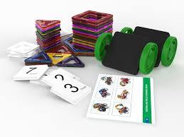 amazon com simplygenious magnetic building blocks 46pcs