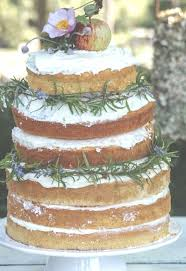 Naked Wedding Cake DIY