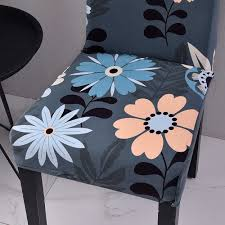 DIDIHOU Floral Printing Chair Covers Spandex Stretch Elastic Chair Cover  For Wedding Dining Room Office Banquet Housse De Chaise Chair Upholstered Floral Design Ding Room Pattern White Green Blue Amazoncom Knit Spandex Stretch 30 Best Decorating Ideas Pictures Of Fall Table Decor In Shades For A Traditional Dihou Prting Covers Elastic Cover For Wedding Office Banquet Housse De Chaise Peacewish European Style Kitchen Cushions 8pcs Print Set Four Seasons Universal Washable Dustproof Seat Protector Slipcover Home Party Hotel 40 Designer Rooms Hlw Arbonni Fabric Modern Parson Chairs Wooden Ding Table And Chairs Room With Blue Floral 15 Awesome To Enjoy Your Meal