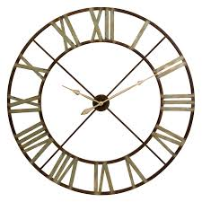 Bed Bath And Beyond Decorative Wall Clocks by Infinity Instruments Metal Fusion Wall Clock Hayneedle
