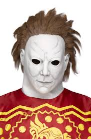 Michael Myers Pumpkin Designs by Michael Myers Asylum Escape Pumpkin Mask Purecostumes Com