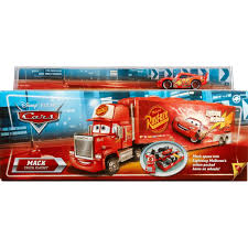 100 Cars Mack Truck Playset By Mattel Shop Online For Toys In Australia