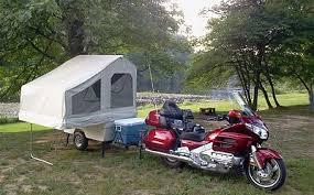 Motorcycle Pull Behind Camper