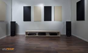perfekte akustik im heimkino aixfoam schallabsorber