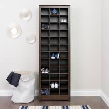 Baxton Shoe Cabinet Canada by Prepac Espresso Space Saving Shoe Storage Cabinet Eusr 0009 1