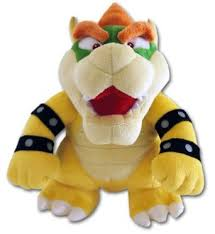nintendo 26cm super mario bros plush sanei bowser amazon co uk