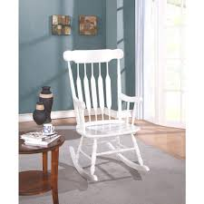 Classic Cottage Rocking Chair - White Shop Simple Living Orleans Midcentury Chair Set Of 2 On Sale Gorgeous Wooden Rocking Porch Brown Green Stock Pong Chair Blackbrown Vislanda Blackwhite Ikea Modern Danish Teak For At 1stdibs Tortuga Outdoor Sea Pines Tortoise Wicker With Classic Wooden Rocking Pedestal Fniture Tables Blue Powell Craft China Removable Seating Cover Wood Chairs Ideas For Patio Needs Jpeocom