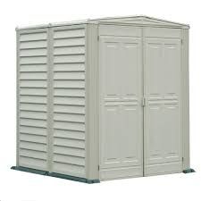 Rubbermaid Horizontal Storage Shed 32 Cu Ft by Rubbermaid Big Max 5 Ft X 6 Ft Plastic Shed 1967672 The Home Depot