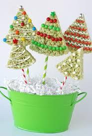 Rice Krispie Treat Christmas Trees By Glory Of Glorious Treats