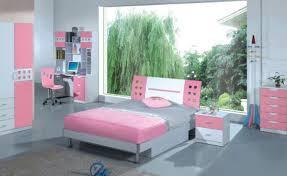 Bedroom Outstanding Platform Bed In Pink Wood Headboard And Grey