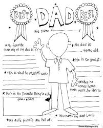 Free Printable Fathers Day Coloring Page Is For The Best Dad So Fun To See How A Child Fills It Out This Makes Card Ever