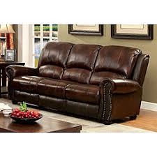 brown sofas loveseats leather sears
