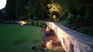 outdoor fence lighting design providing wide wash across your