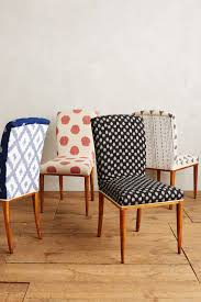 Mixed Print Dining Chairs: Elza Ikat Anthropologie | Home In ...