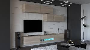 gold n31 modernes wohnzimmer wohnwand wohnschrank schrankwand möbel