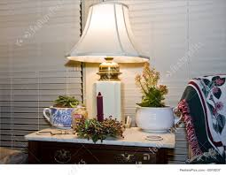 Vintage End Table With Lamp Attached by Decorating End Tables With Lamps Home Table Decoration