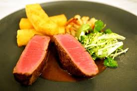 Bishops Dining Room Wine Bar Beef Fillet With Triple Cooked Chips Watercress