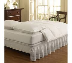 Twin XL Bed Skirt Designer Ruffle Bedding Supplies College Decor